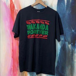 Wakanda Forever T-shirt.